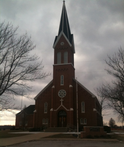 St Joseph's Catholic Church in Island Grove
