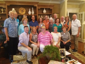 Our cousins' reunion at Mark Seiter's home in Conway, June 2018