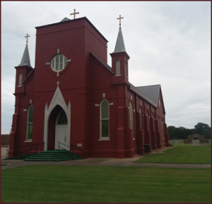 Ss. Peter and Paul Church in Morrison Bluff, Ark.